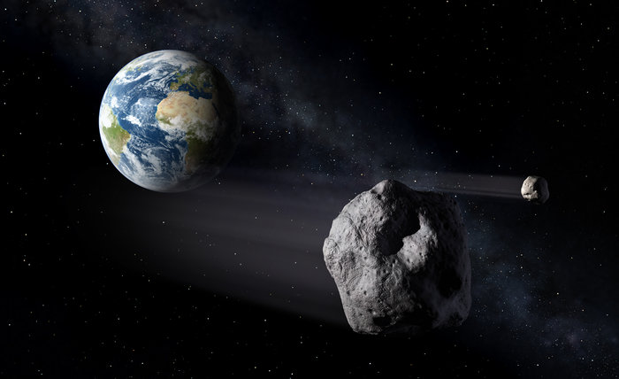 A Large Asteroid Will Fly Past Earth at a Very Close Distance on April 19