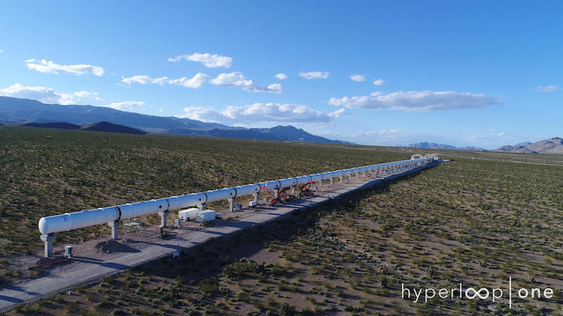 Hyperloop One Reveals 11 Potential Routes for Its Debut in the U.S.