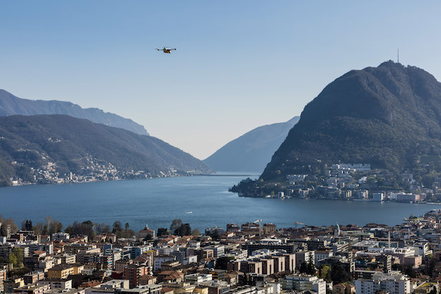 Two Swiss Hospitals in Lugano Use Drones to Exchange Lab Samples