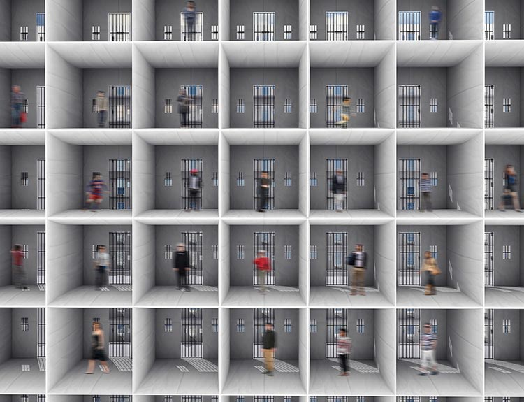 Interior cell of the panama papers jail