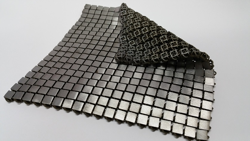 Advanced woven space fabric