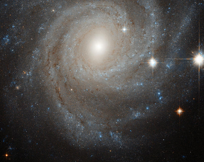 The NGC 3344 spiral galaxy