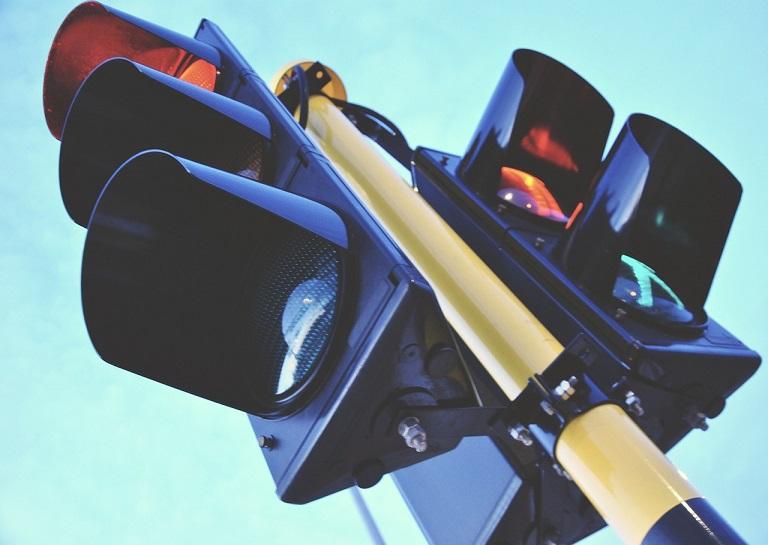 Traffic and pedestrian lights