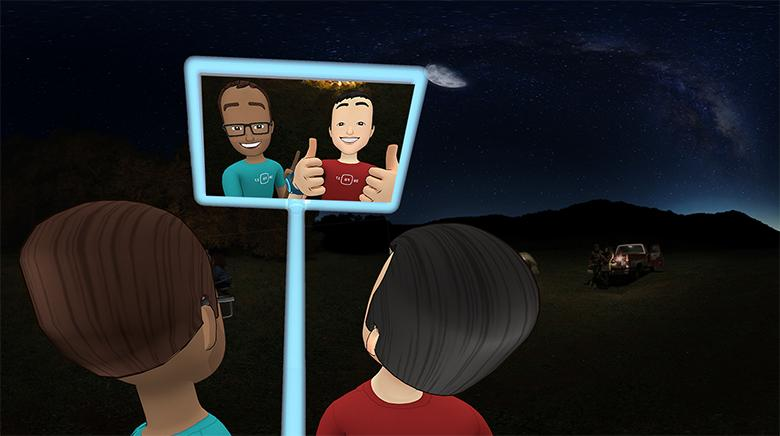 Facebook's New App 'Spaces' Allows You to Hang out With Your Friends in VR