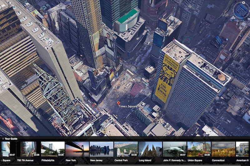 Google Earth Now Supports 3D Views and Takes You on Guided Tours Around the World