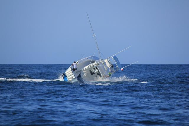 Massive Black Marlin Sinks Fishing Boat off the Gulf of Panama