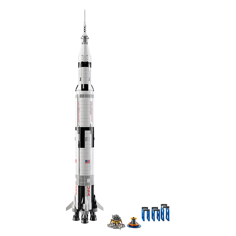 LEGO's New NASA Saturn V Apollo Rocket Set Is Every Space Fan's Dream