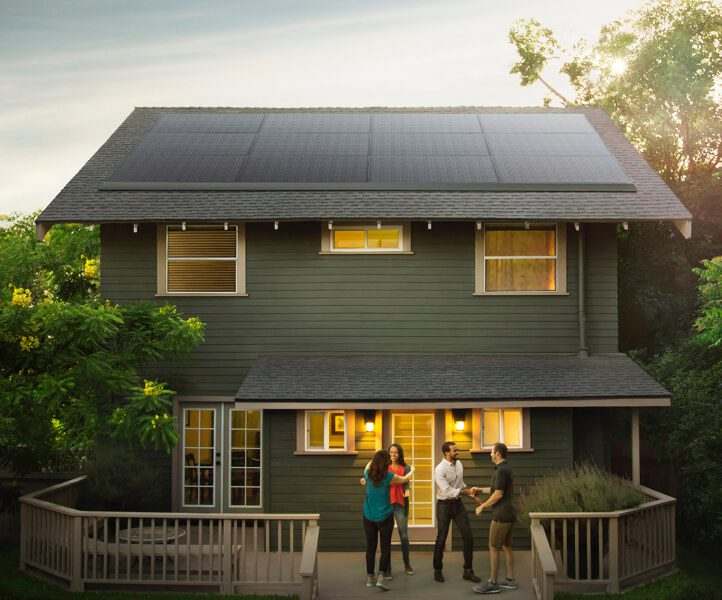 Tesla Introduces Sleekest Solar Roofing Idea Yet Thanks to Panasonic