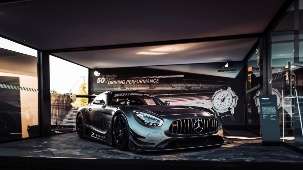 Mercedes revealed the AMG GT3 Edition 50