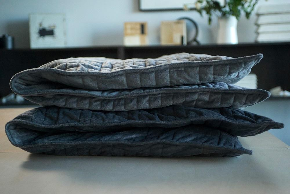 Folded up Gravity blanket