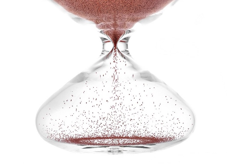 Esoteric hourglass by Marc Newson