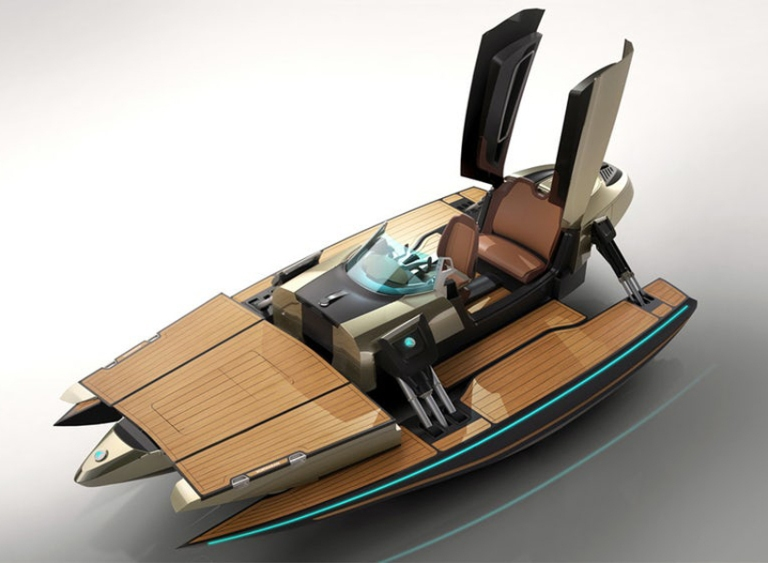 This Limited Edition Luxury Watercraft is the Boat of Your Dreams