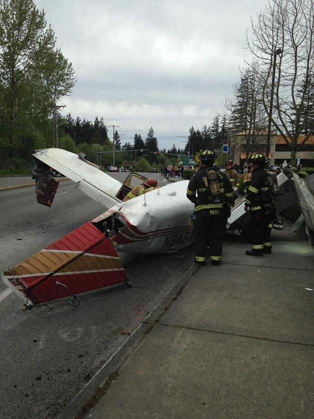 Mukilteo plane crash in Washington