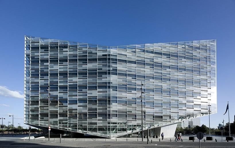 The Crystal building in Copenhagen