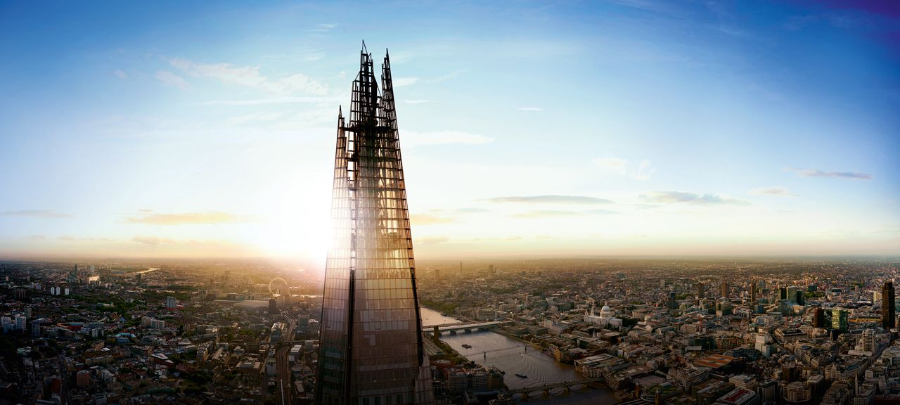 The Shard skyscraper in London