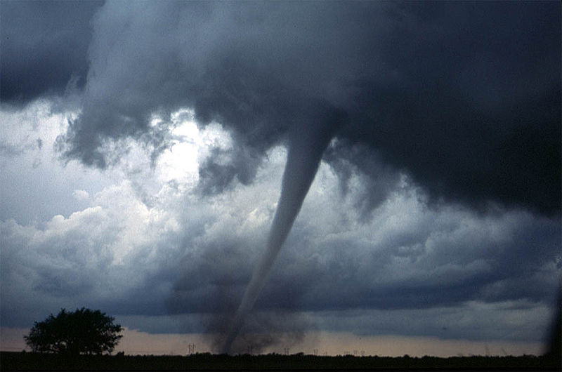 Tornado near Anadarko, Oklahoma