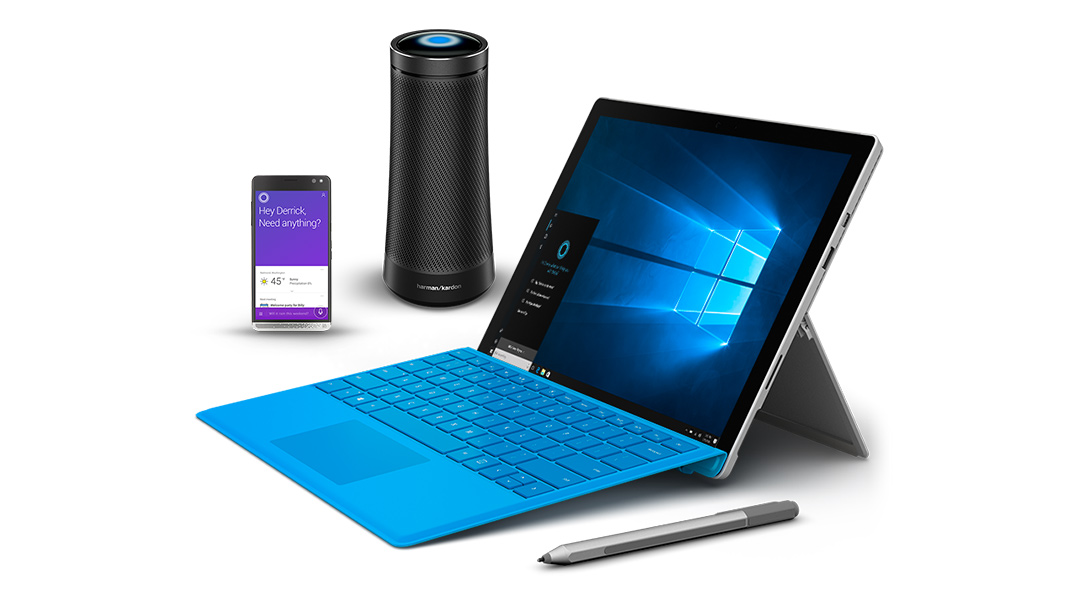 Microsoft's Windows family of devices including Invoke
