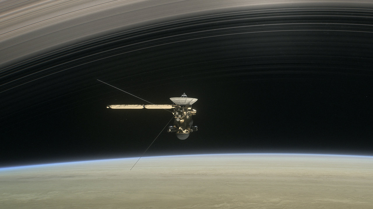 Listen to NASA's Spooky Sound Recordings of Saturn and Its Rings