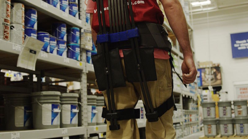 This Futuristic Exosuit Is Developed to Give Store Employees 'Superpowers'