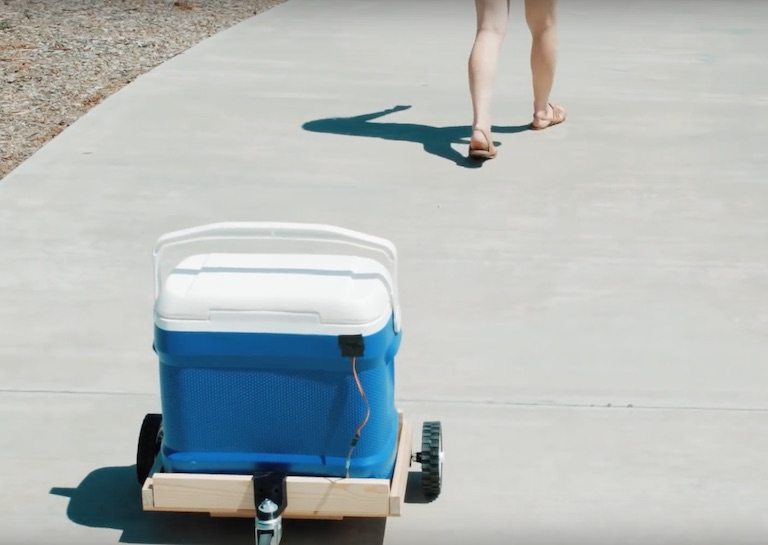 Get Ready for the Summer With This DIY Cooler That Follows You Around