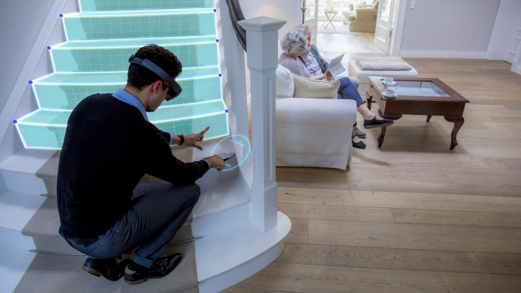 Augmented Reality for Stair lift Design