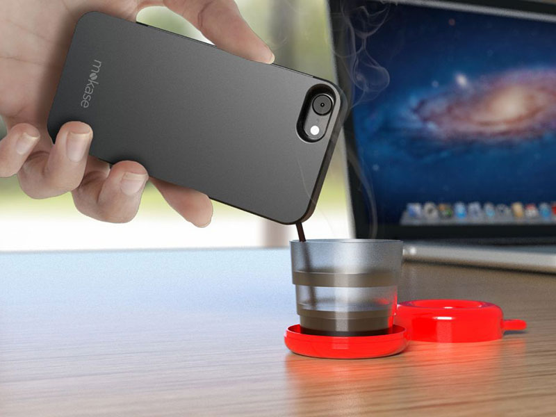 This Smartphone Case Can Make You Coffee On the Go