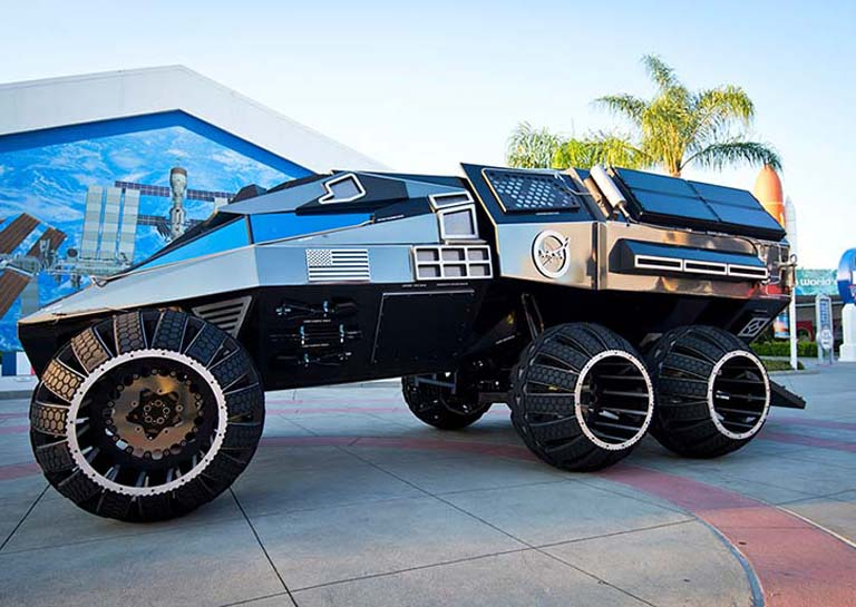 NASA Finally Unveils Its Batmobile-Like Mars Rover Concept