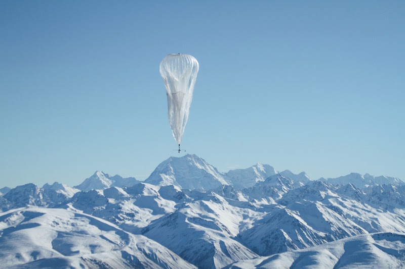 Google's Project Loon Balloons Can Provide Internet Access to Disaster Areas