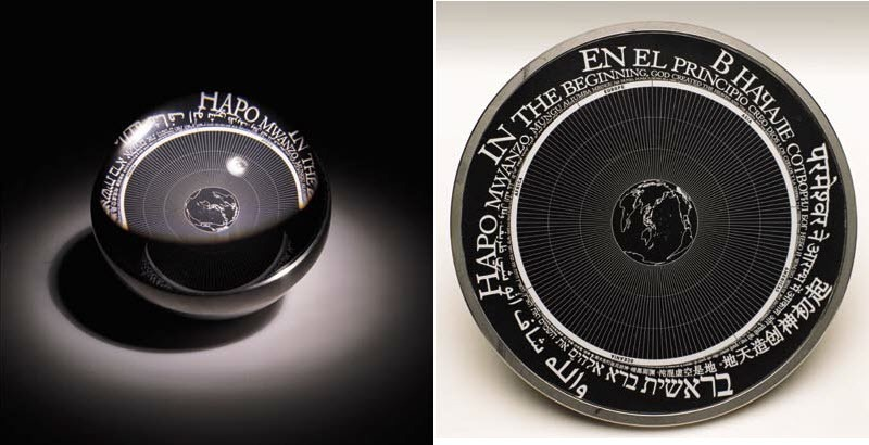 This Tiny Little Disk Contains a Microscopic Archive of All Languages in the World
