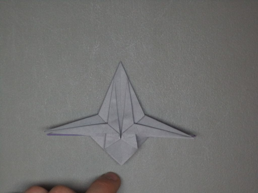 shaped up origami spacecraft
