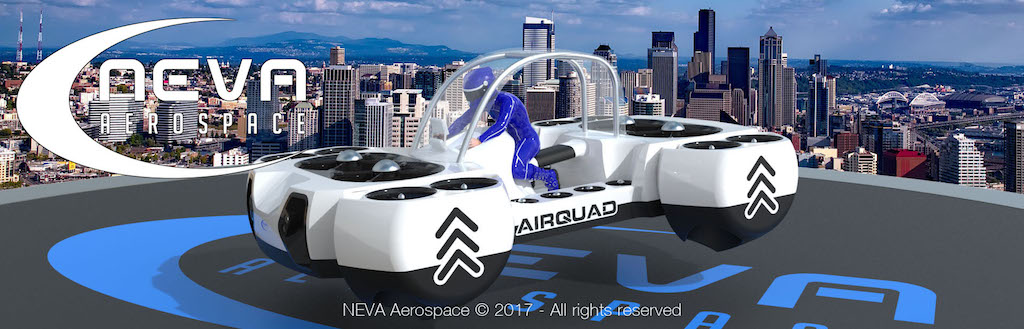 Neva Aerospace Unveils the World's First Flying Quad Bike