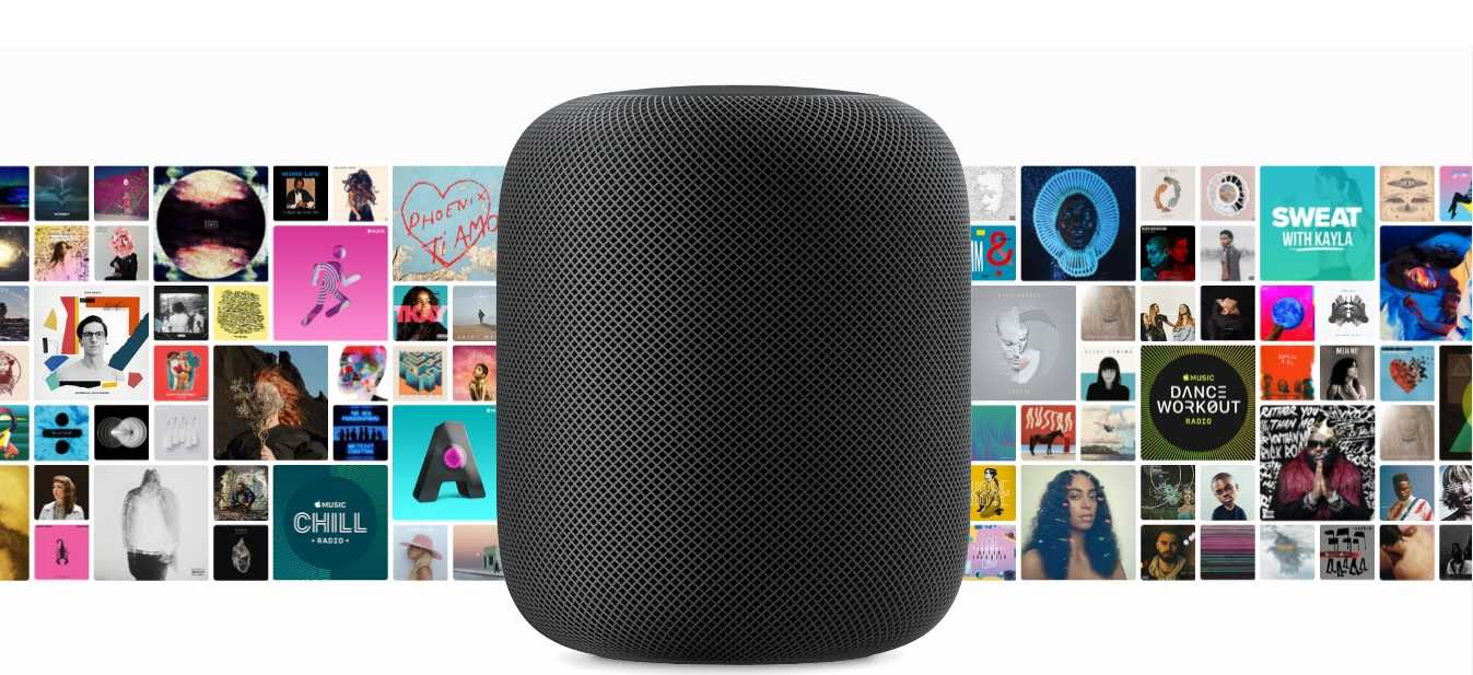 40 million of music available from HomePod