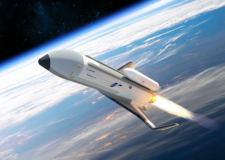 Boeing's Phantom Express spaceplane for space travel