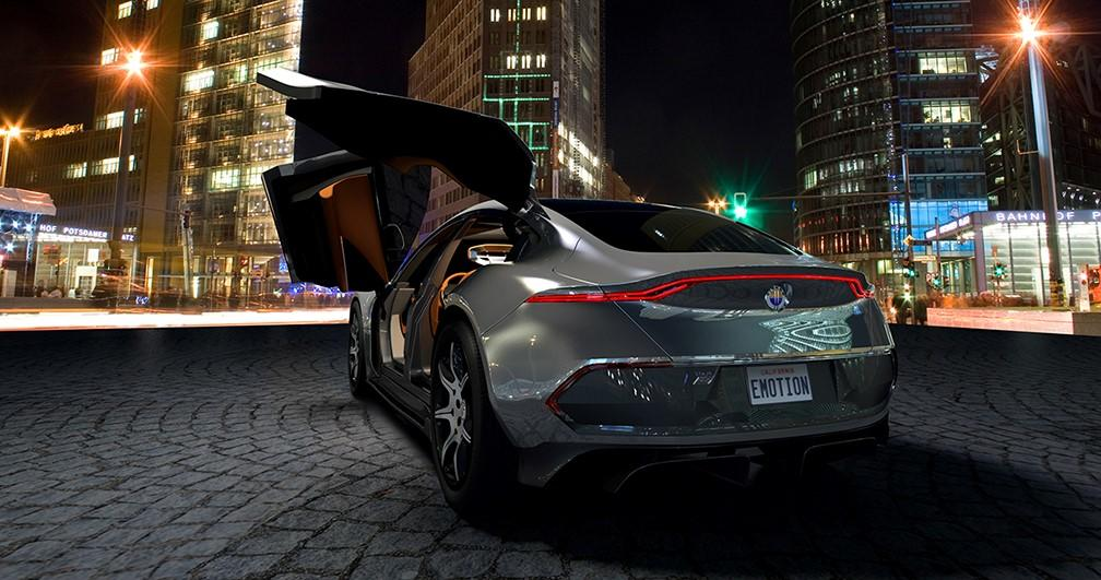 Fisker EMotion electric vehicle design