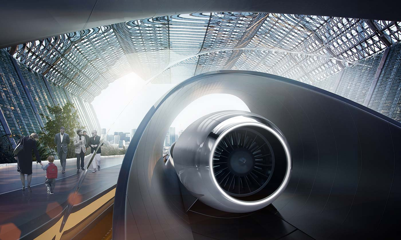 Hyperloop Plans to Take You From Amsterdam to Paris in Just 30 Minutes!