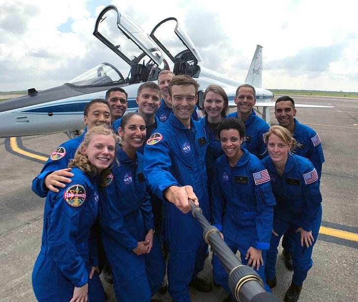 Selfie time for NASA astronaut recruits