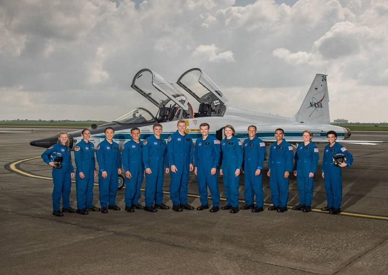 2017 NASA Astronaut Candidates. Photo Date: June 6, 2017. Location: Ellington Field - Hangar 276, Tarmac. Photographer: Robert Markowitz