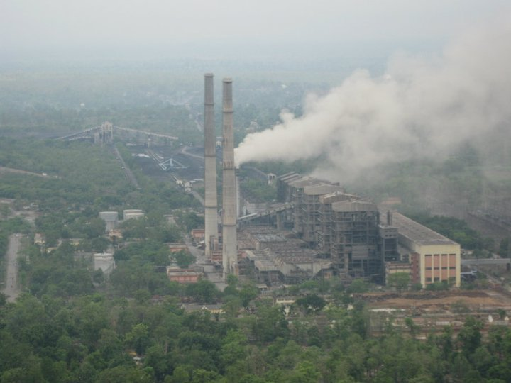 Satpura coal power plant in India - World Environment Day 2017 encourages a greener approach