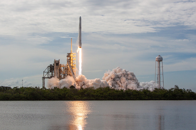 SpaceX Successfully Launches First Reused Dragon Capsule to ISS