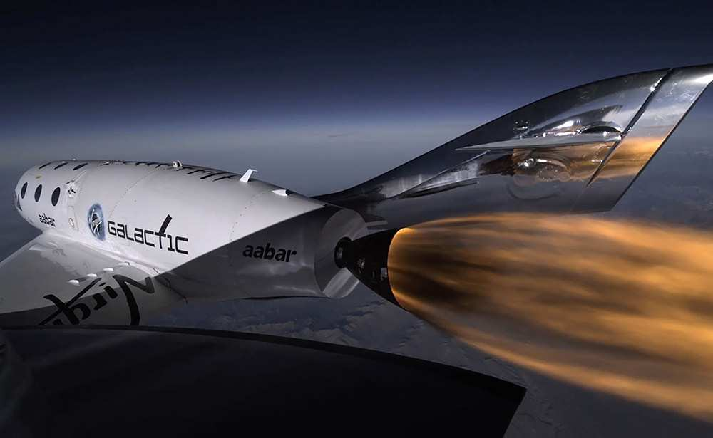 Virgin Galactic's spaceline