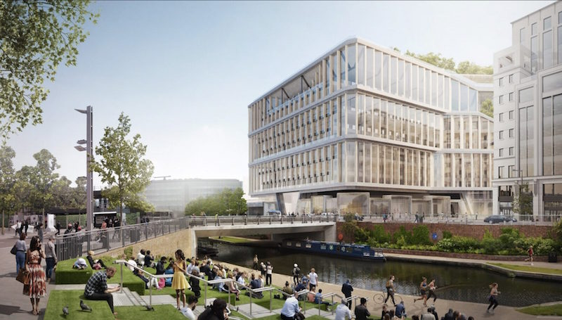 New Images Show Plans for Massive Google Headquarters in London