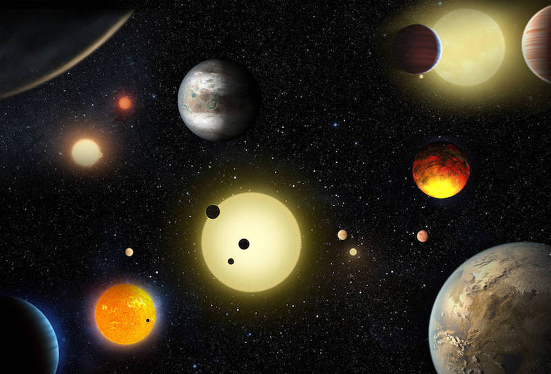 NASA's Kepler Space Telescope Discovers 10 New Planets Like Earth