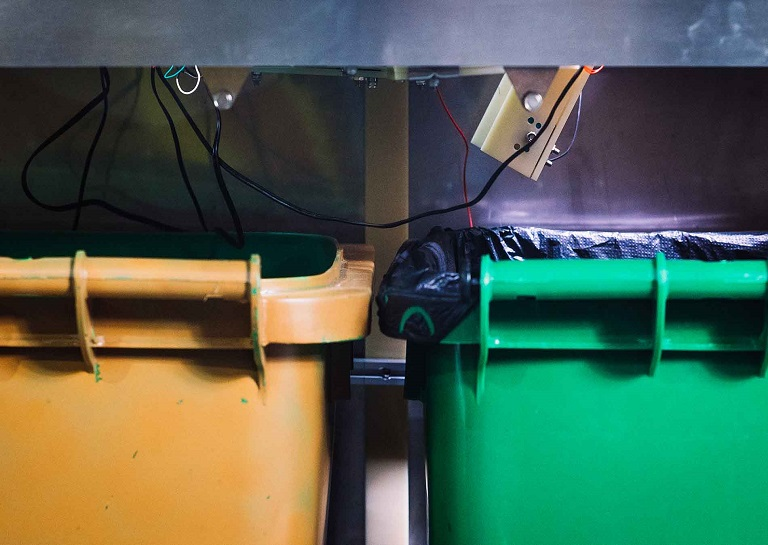 The TrashBot Automatically Separates Recyclables from Garbage