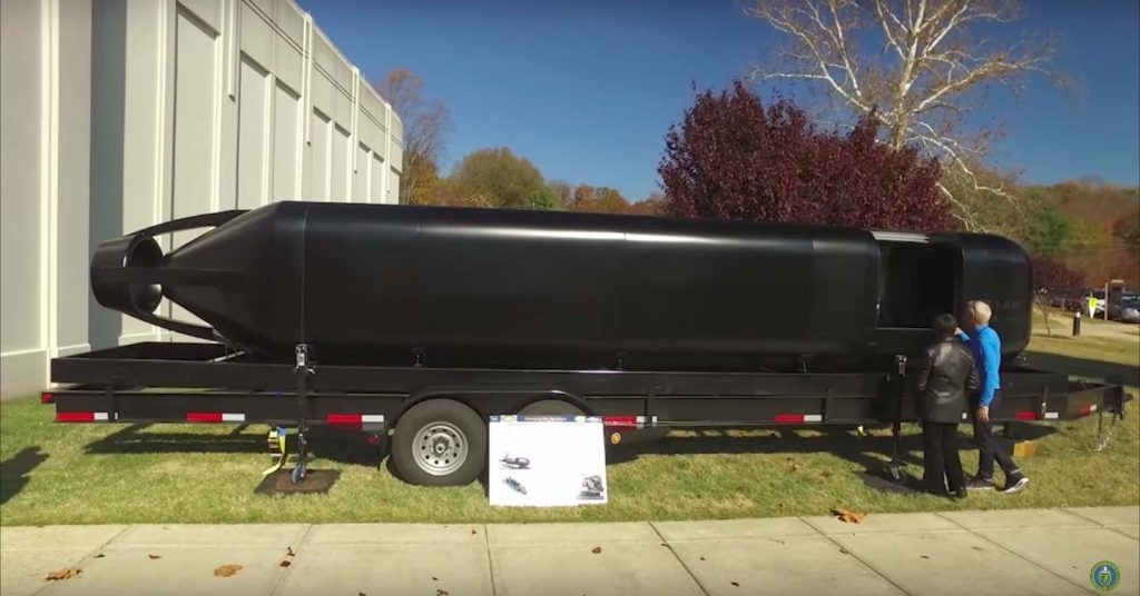The US Navy 3D Printed This Concept Submersible In Less Than Four Weeks
