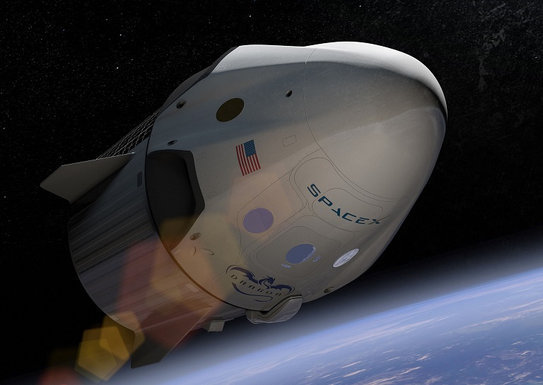 Dragon 2 spacecraft