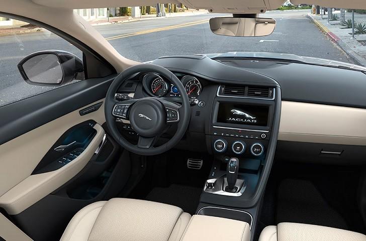 Jaguar E-Pace interior infotainment