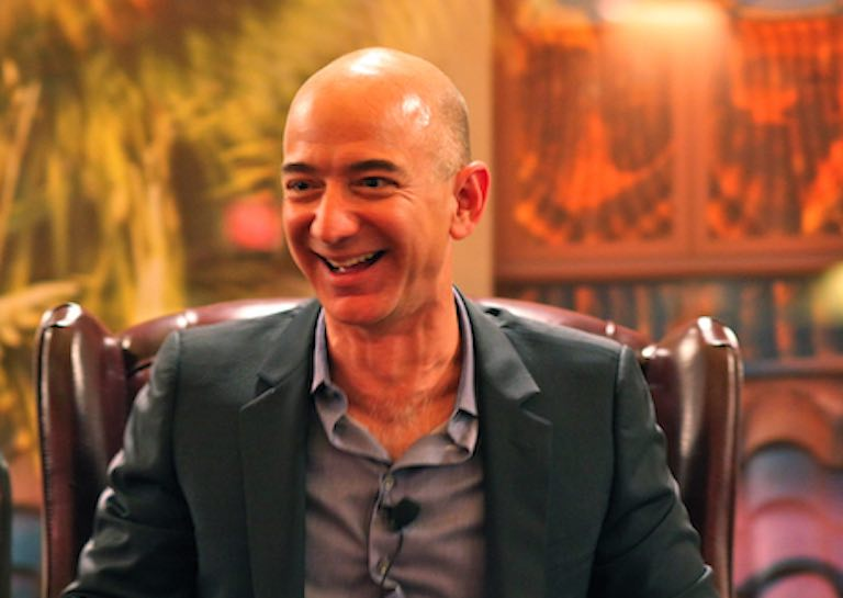 Amazon CEO Jeff Bezos Is Now Hailed as the World's Richest Person