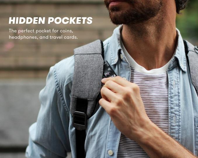 Lifepack pocket compartments