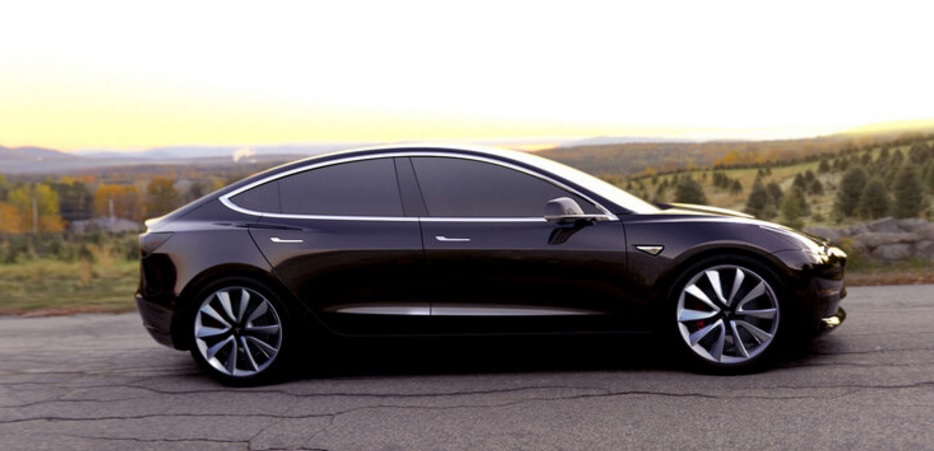 Tesla Model 3 owned by Elon Musk