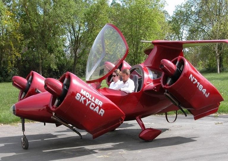 Moller International's M400 Skycar